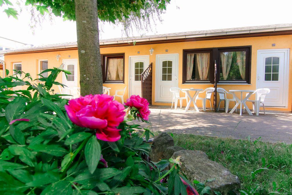 Doppelzimmer im Gartenhaus des Hotel Reichskrone Heidenau zwischen Dresden und Sächsische Schweiz