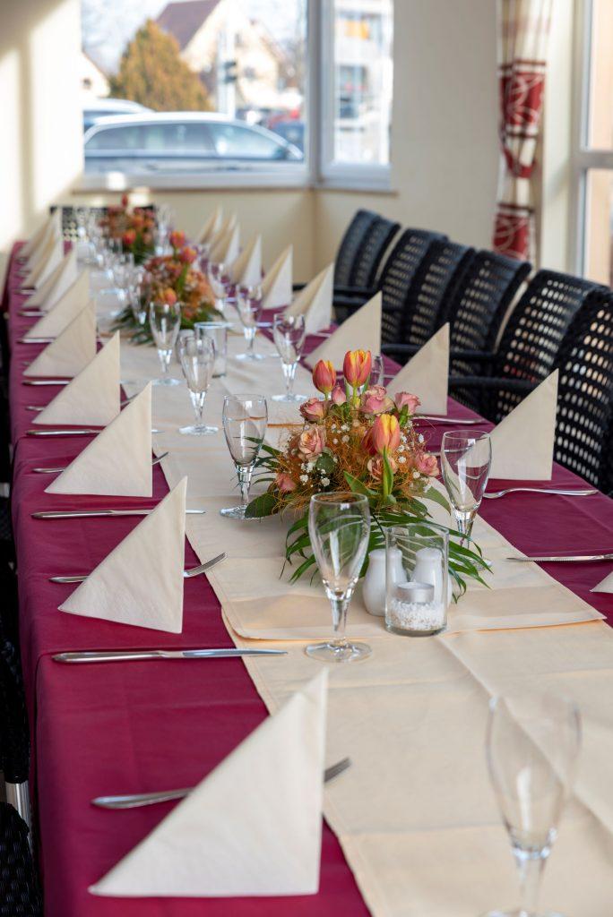 Familienfeier im Restaurant Sachsenstube Heidenau im Hotel Reichskrone Heidenau zwischen Dresden und Sächsische Schweiz